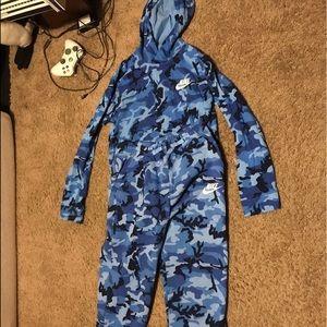 Boys Nike Camo Matching Outfit Sz XL
